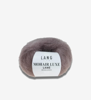 lang yarns mohair luxe lame